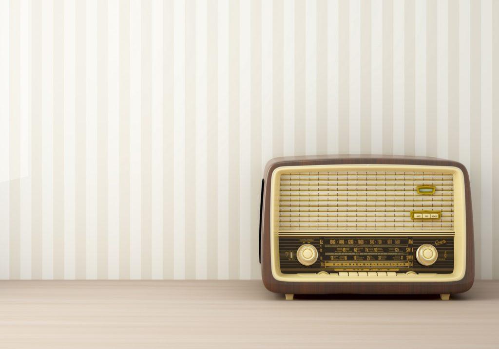 radio vintage soffice natura